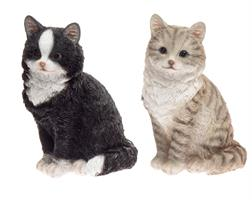 Kissa istuva 26 cm lajitelma