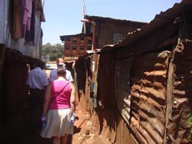 In the Kibera Area
