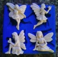 Silikonform Fairy set NM