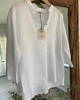 Piro Linen Shirt, White