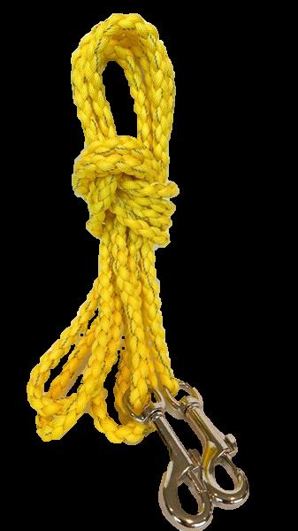 3m bånd gul m/stor krok