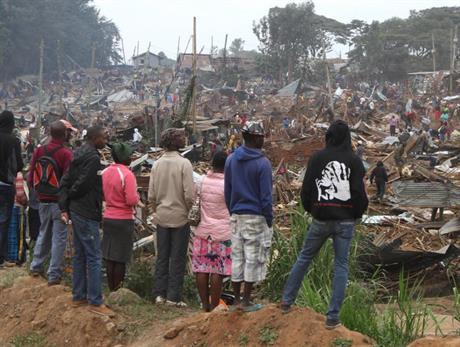 Kibera demolition