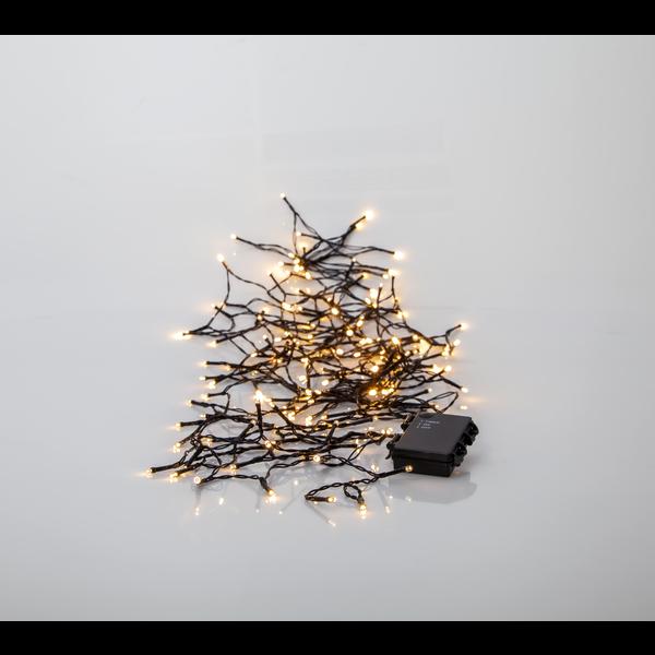 Ljusslinga Akku batteri 100led Star Trading