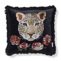 Classic Collection Rosea Cushion Cover, Black