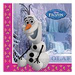 Servietter Frost Olaf/Anna/Elsa 20stk