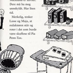 LasseMajas Detektivbyrå: Avis-mysteriet
