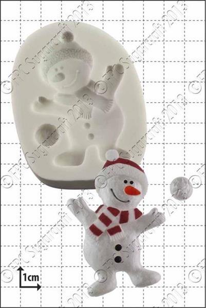 "Silikonform FPC ""Dancing Snowman"""