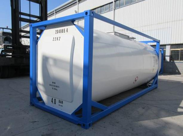 Tank container