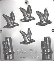 Plastform Havfugl m/kaistolper
