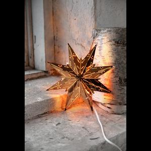 Julstjärna Mini koppar Star Trading