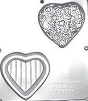 Plastform Hjerteskrin m/lokk 3D