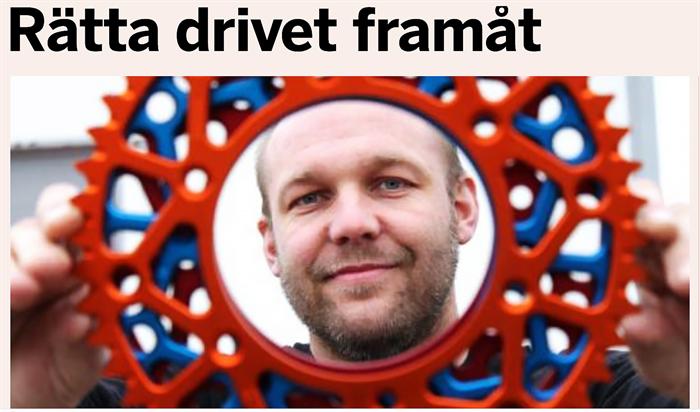 DAGENS INDUSTRI - RÄTTA DRIVET FRAMÅT