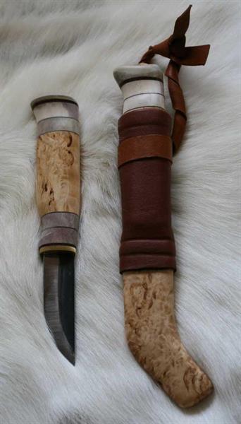 Kniv täljkniv 7,7cm träslida