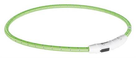 Trixie Blinkhalsband Grön Tyg L-XL
