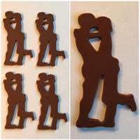 Silikonform sjokoladefigur