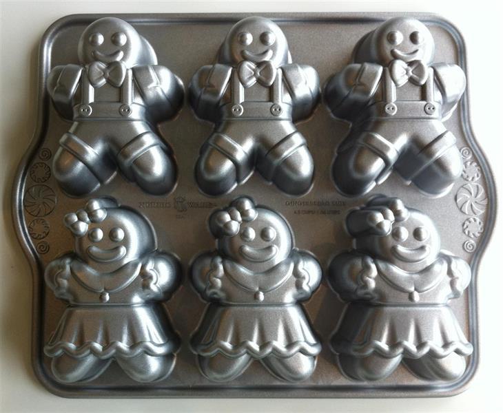 Nordic Ware Gingerbread Kids