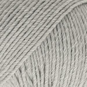 Cotton Merino Lys grå
