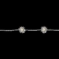 Ljusslinga silverblommor Star Trading