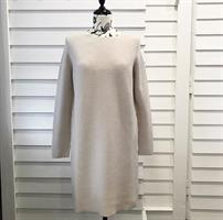 Piro Knit Dress, Panna