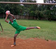 Obine Garava very good Goal Keeper
