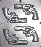 Plastform Pistoler Spill 4 stk