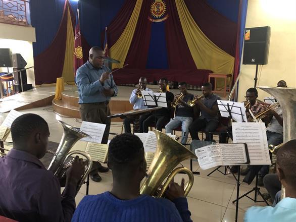 S.A. Thika Band & Bandmaster