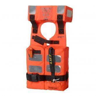 Baltic M.E.D/SOLAS Foam MK3, Orange, Vuxen