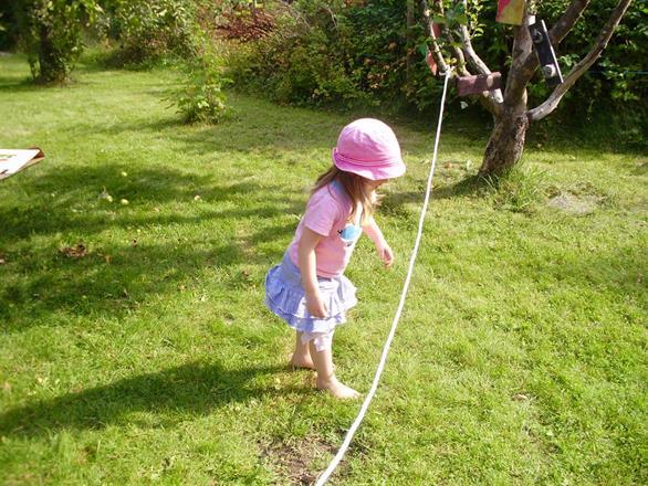 vår härliga trädgård erbjuder många utmaningar