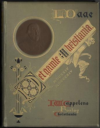 DAAE, Ludvig :Det gamle Christiania 1624-1814. Anden omarbeidede og forøgede udgave. Med over 100 illustrationer. Kr. 1 200,-