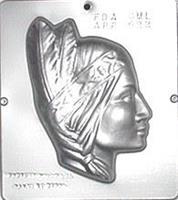 Plastform Indianer Dame