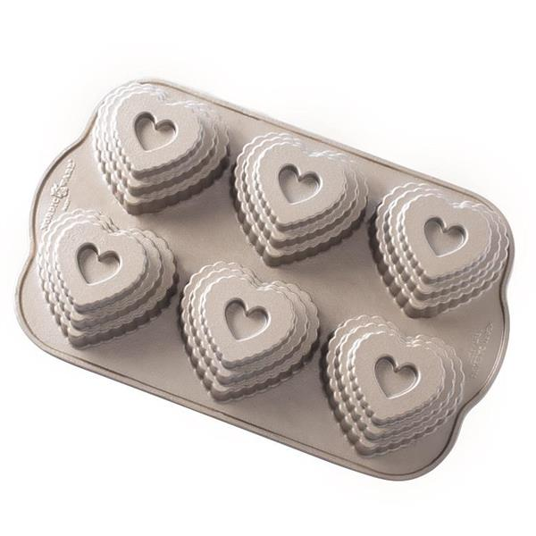 """Nordic Ware """"Tiered Heart"""""""