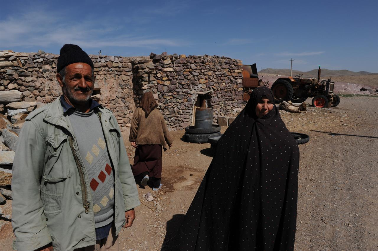 Besök i landsby