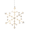 Dekoration Snöflinga Icy 45cm Star Trading
