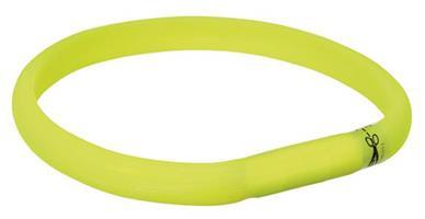 Trixie Blinkhalsband Limegrön M-L 50cm/17mm