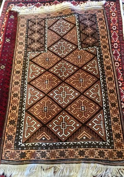 70167 Afghansk bedeteppe 140 x 86