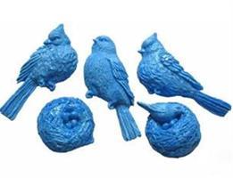 FI Silikonform Bird Trio (A216)