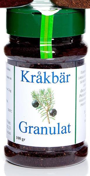 Granulat Kråkbär 100 g krydd