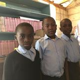 Godwill, Arnold and Lawrence at Joysprings School