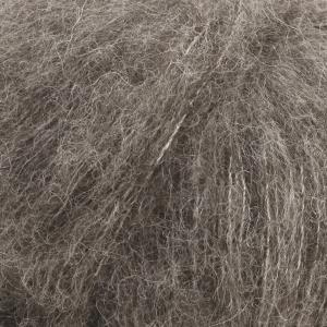 Brushed Alpaca Silk Grå