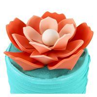 Utstikker Origami Blomster PME, kaketopp