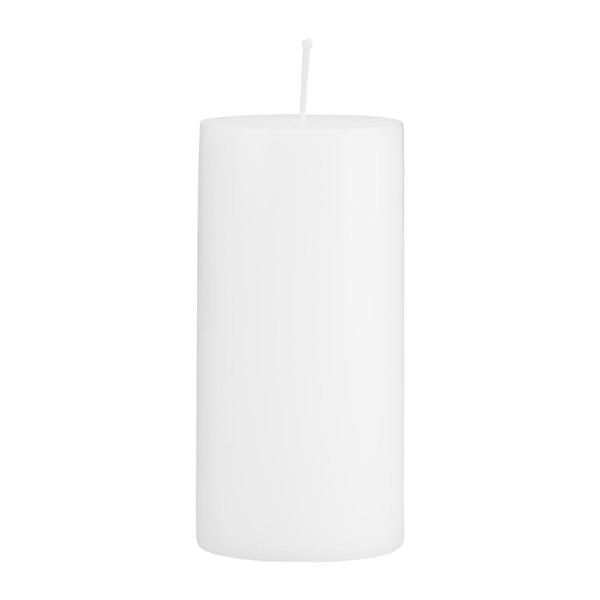 House Doctor Candle, white 15 x 7 cm