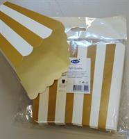 Popcorn kulho kulta k.16cm