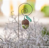 Lanterna m krok Ekollon Pärla Grön