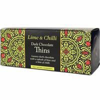 Dark Chocolate Lime & Chili 150g