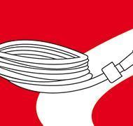 Förlängningskabel med DIN-kontakter 2m Bolthi