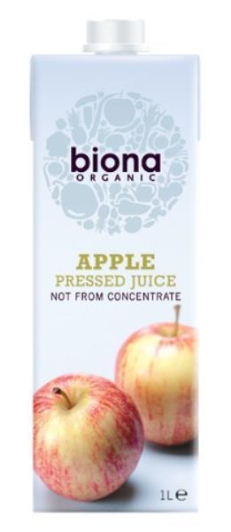 Omenatäysmehu Biona 1 L, luomu