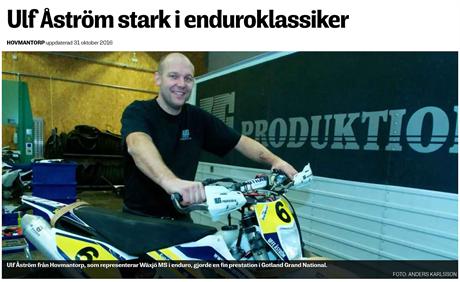 SMP - ULF ÅSTRÖM STARK I ENDUROKLASSIKER