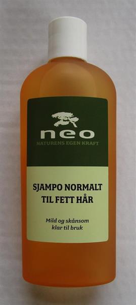 Sjampo for normalt til fett hår 125 ml