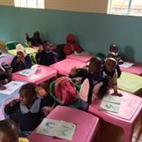 Kibera Nursary School Baby Class