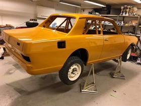 Sæthern Historic Racing bil lakkert av Bertntsen Karosseri, klikk på bilde for mer informasjon